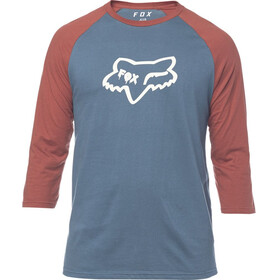 Fox Czar Head Premium Raglan LS Men navy/red